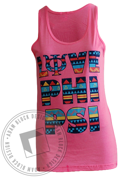 Phi Kappa Psi Tribal Tank-gallery-Adam Block Design