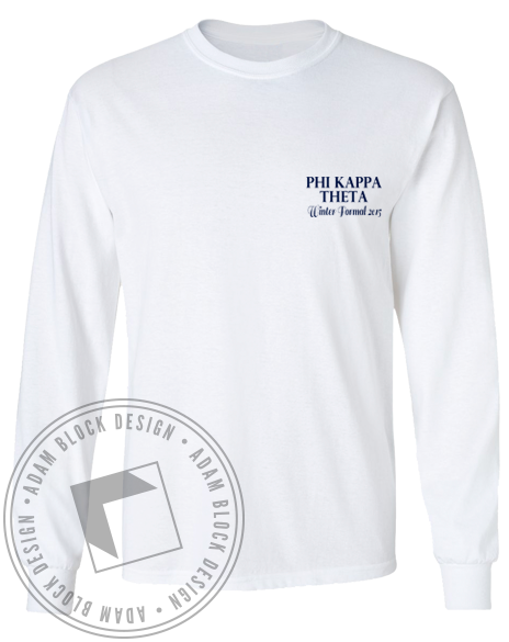 Phi Kappa Theta Formal Longsleeve-Adam Block Design