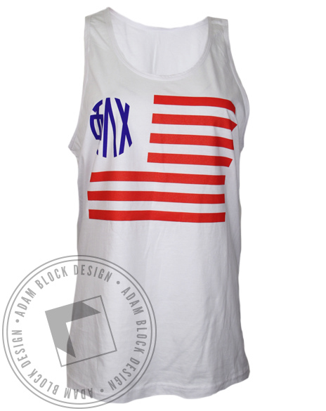 Phi Lambda Chi Best Country Best Sorority Tank Top-Adam Block Design