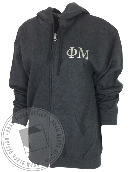 Phi Mu New Jersey Hoody-gallery-Adam Block Design