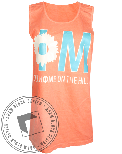 Phi Mu Our Home Tank-Adam Block Design