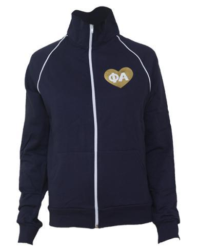 Phi Rho Alpha Heart Track Jacket-gallery-Adam Block Design