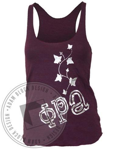 Phi Rho Alpha Ivy Tank-gallery-Adam Block Design