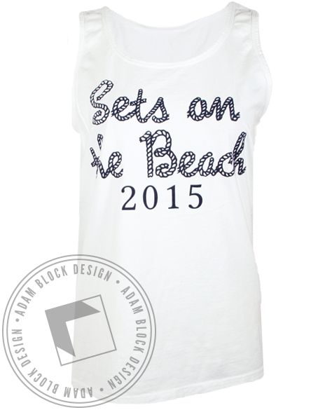Phi Sigma Sigma Beach 2015 Tank Top-gallery-Adam Block Design