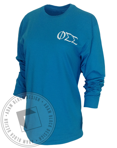 Phi Sigma Sigma Tiffanys Bid Day Collection-Adam Block Design