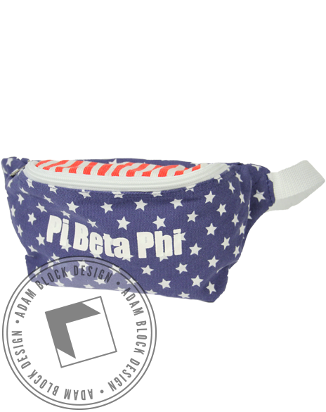 Pi Beta Phi America Fannypack-gallery-Adam Block Design