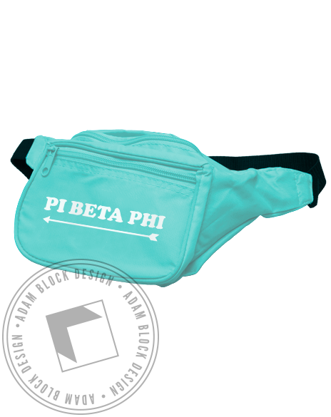 Pi Beta Phi Arrow Fannypack-gallery-Adam Block Design