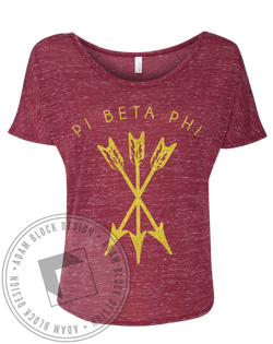Pi Beta Phi Arrow Tee-Adam Block Design