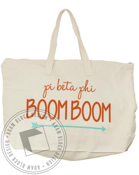 Pi Beta Phi Arrow Tote-gallery-Adam Block Design