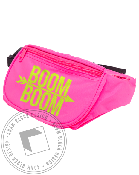 Pi Beta Phi Boom Boom Fanny Pack-gallery-Adam Block Design