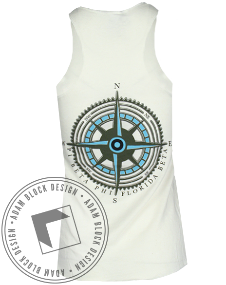 Pi Beta Phi Compass Tank-gallery-Adam Block Design