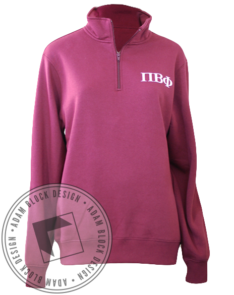 Pi Beta Phi Crest Pullover-Adam Block Design