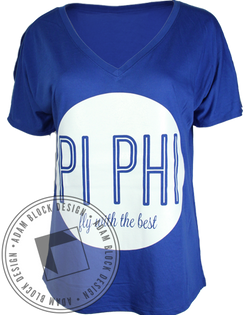 Pi Beta Phi Fly With the Best Tee-Adam Block Design