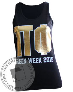 Pi Beta Phi Greek Week Tank-Adam Block Design