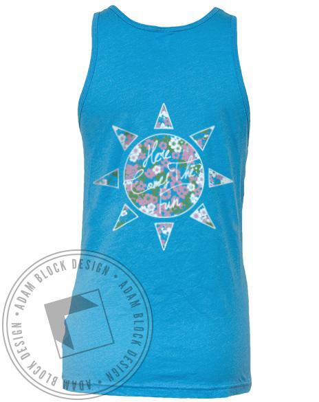 Pi Beta Phi Here Comes The Fun Tank-Adam Block Design