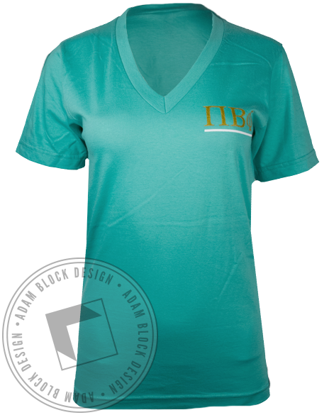 Pi Beta Phi Home Tshirt-Adam Block Design
