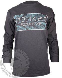 Pi Beta Phi Pizookies Long Sleeve-Adam Block Design