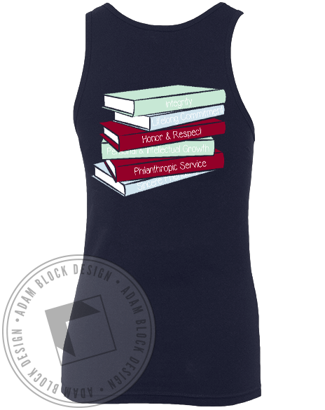 Pi Beta Phi Read Lead Achieve Tank-gallery-Adam Block Design