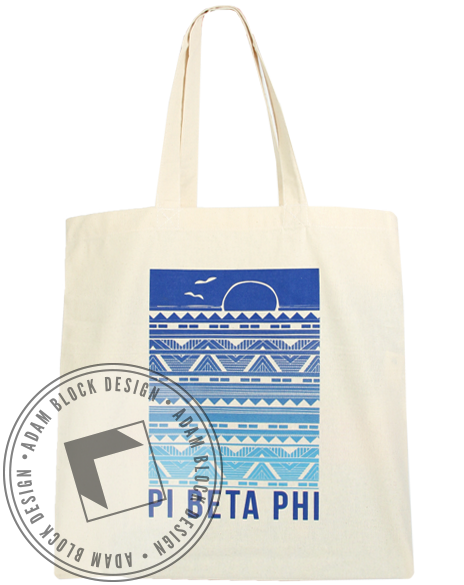 Pi Beta Phi Summer Tote-gallery-Adam Block Design