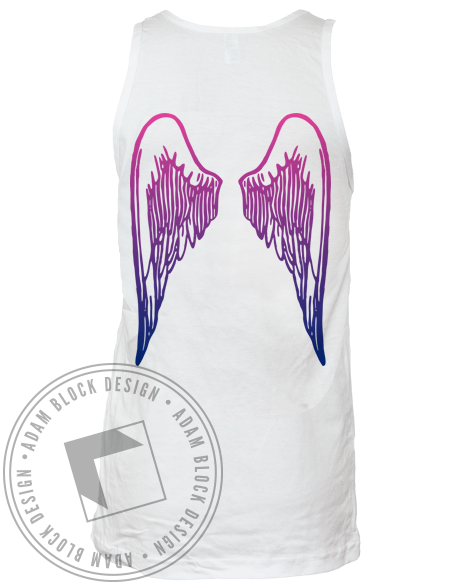 Pi Beta Phi Wings Bid Day Tank-Adam Block Design