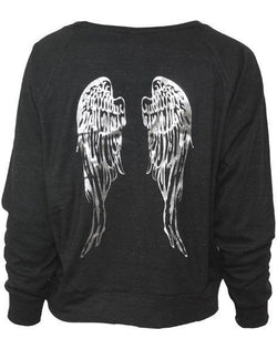 Pi Beta Phi Wings Raglan Pullover-gallery-Adam Block Design