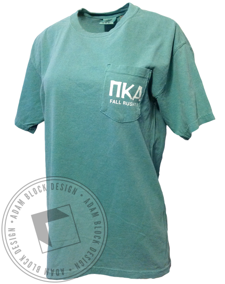 Pi Kappa Alpha Arizona Tea Rush Pocket Tee-gallery-Adam Block Design