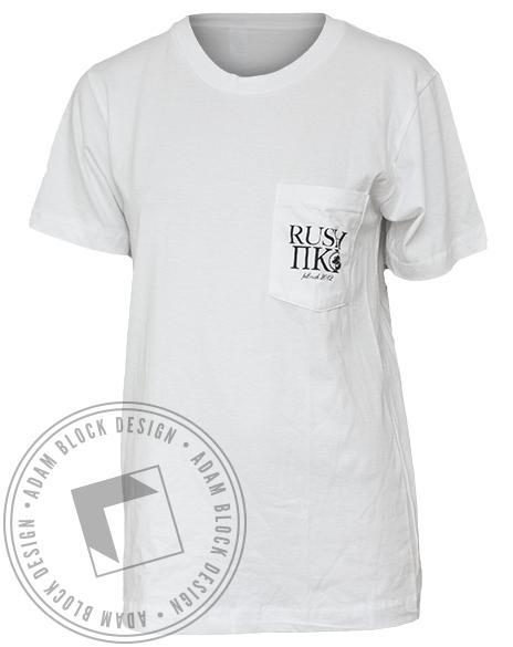Pi Kappa Phi Dog Pocket Tee-gallery-Adam Block Design