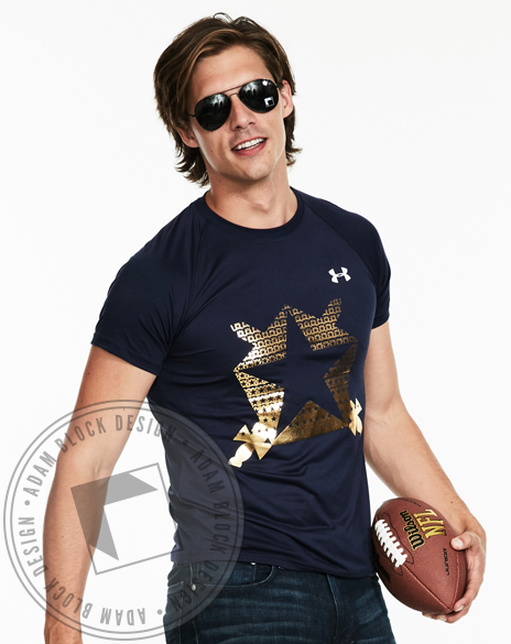 Pi Kappa Phi Shield Short Sleeve Shirt-Adam Block Design