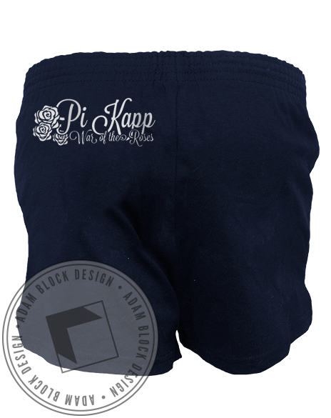 Pi kappa Phi War Of The Roses Shorts-Adam Block Design
