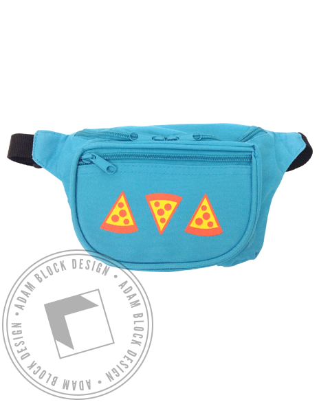 Pizza Fannypack-Adam Block Design