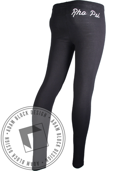 Rho Psi Eta Leggings-Adam Block Design
