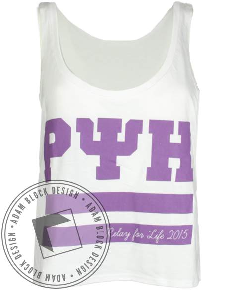 Rho Psi Eta Relay For Life Tank-Adam Block Design