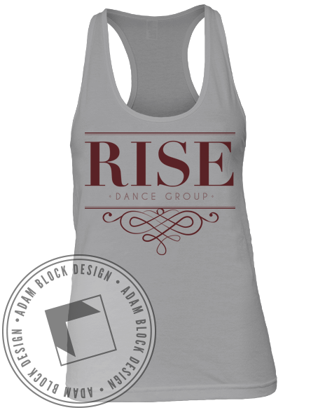 Rise Dance Group Tank-Adam Block Design