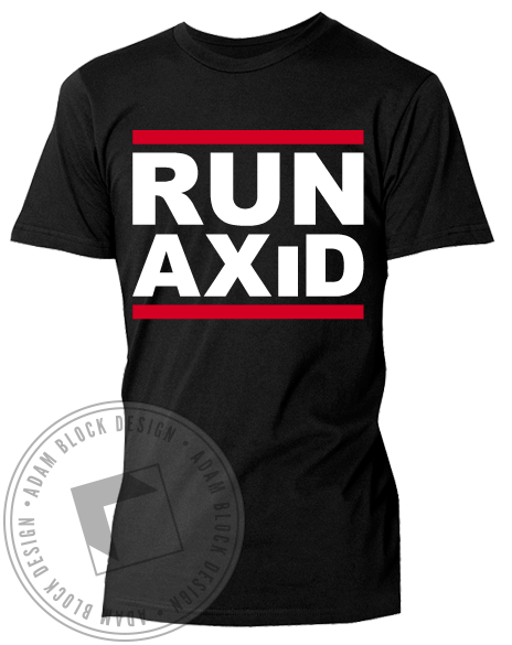 Run Alpha Xi Delta Tee-Adam Block Design