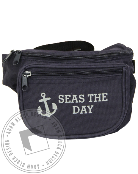 Delta Gamma Seas the Day Fanny Pack-Adam Block Design