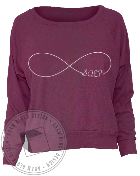 Sigma Alpha Epsilon Pi Infinity Long Sleeve Pullover-gallery-Adam Block Design