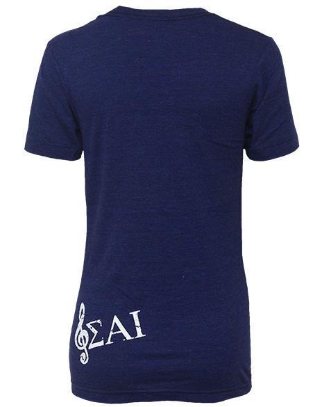 Sigma Alpha Iota Life Is Short V-neck-gallery-Adam Block Design
