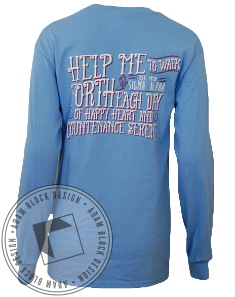 Sigma Alpha Walk Longsleeve-gallery-Adam Block Design