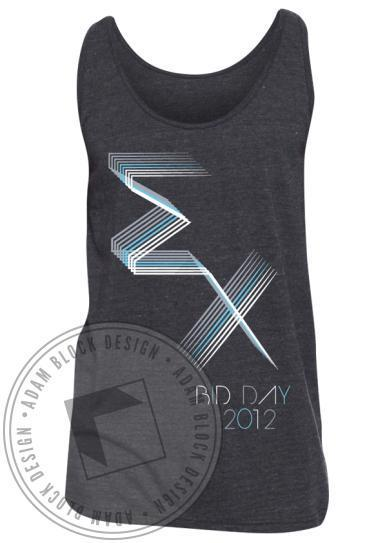 Sigma Chi Bid Day Tank-Adam Block Design