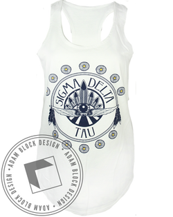 Sigma Delta Tau Dreamcatcher Tank-Adam Block Design