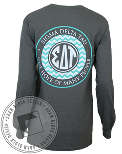 Sigma Delta Tau Hope Longsleeve-Adam Block Design