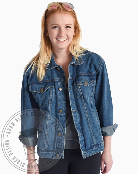 Sigma Delta Tau Jean Jacket-Adam Block Design