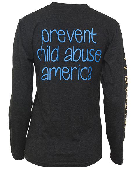 Sigma Delta Tau Prevent Child Abuse Long Sleeve-Adam Block Design