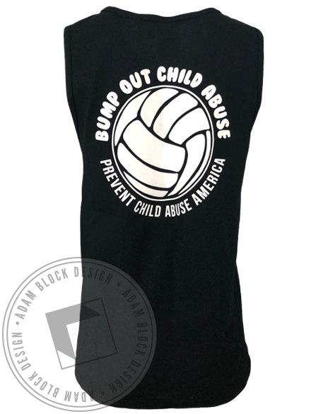 Sigma Delta Tau Retro Volleyball Tank Top-Adam Block Design