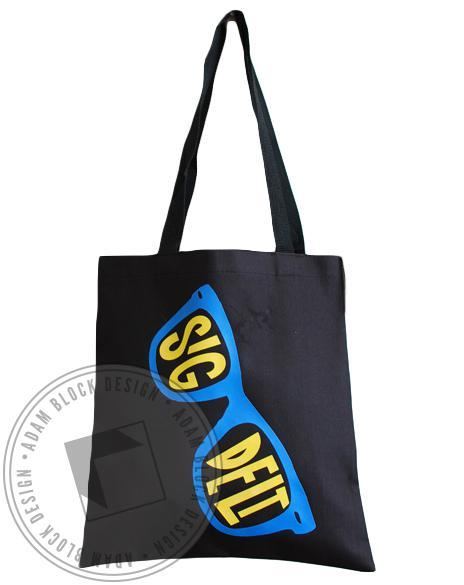 Sigma Delta Tau Sunglasses Tote-gallery-Adam Block Design