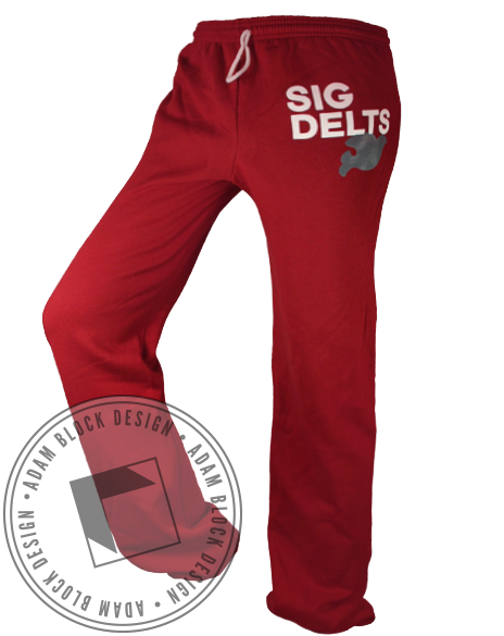 Sigma Delta Tau Sweatpants-Adam Block Design