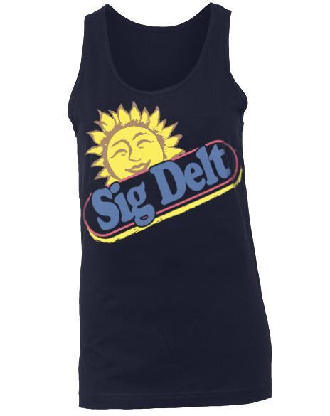 Sigma Delta Tau The Best Stuff On Earth Tank-Adam Block Design