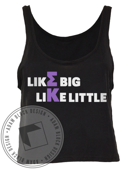 Sigma Kappa Big Little Tank-Adam Block Design