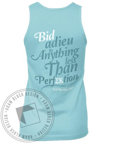 Sigma Kappa Chevron Perfection Tank-Adam Block Design
