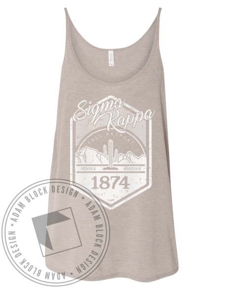 Sigma Kappa Desert Retreat Tank-gallery-Adam Block Design